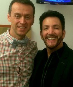 With Andrew Lippa at Walt Disney Concert Hall