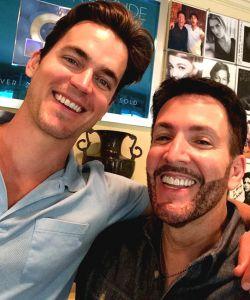 With Matt Bomer