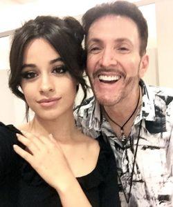 With Camila Cabello