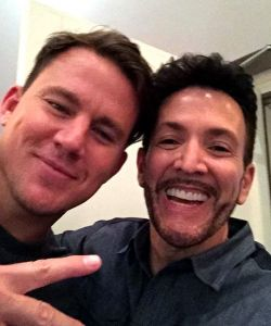 With Channing Tatum