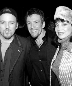 With Kathy Najimi, Dan Finnerty and Toni Basil