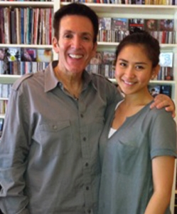 A voice lesson with Sarah Geronimo from the Phillipines