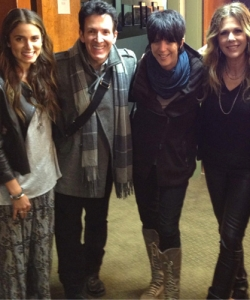 Backstage with Nikki Reed, Diane Warren, Rita Wilson and Paul McDonald