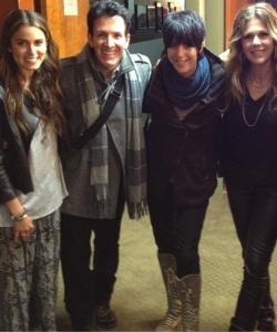 Backstage with Nikki Reed, Diane Warren, Rita Wilson and Paul McDonald