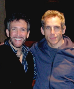With Ben Stiller recording Magic To Do