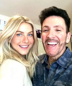 With Julianne Hough
