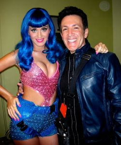 Backstage with Katy Perry at the MTV Movie Awards