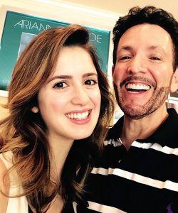 With Laura Marano