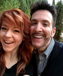 With Lindsey Stirling