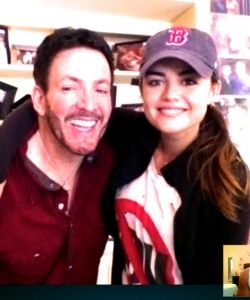 With Lucy Hale by Jake Miller