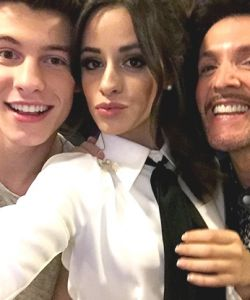 With Shawn Mendes & Camila Cabello