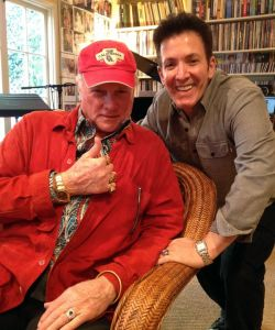 With Mike Love of the Beach Boys