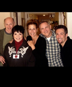 With Liza Minelli, Rita Wilson, Craig Zadan & Neil Meron