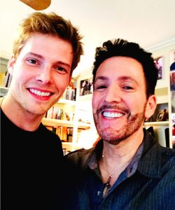 With Hunter Parrish