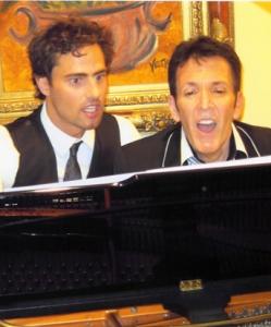Rehearsing with David Burnham