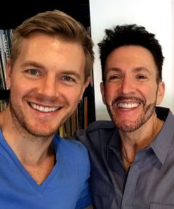 With Rick Cosnett