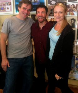 With Robert Sean Leonard & Brandi Burkhardt