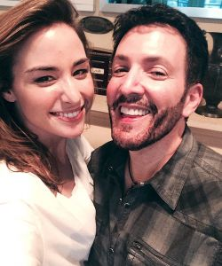 With Allison Scagliotti