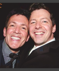 Sean Hayes opening night of PROMISES, PROMISES