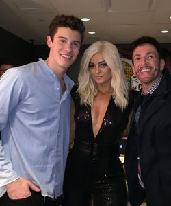 With Shawn Mendes & Bebe Rexha