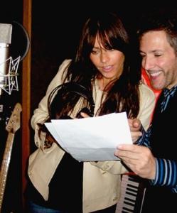 With Sofia Vegara rehearsing for CHICAGO