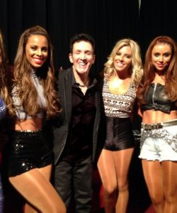 Backstage with the Saturdays