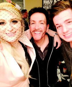 With Meghan Trainor and Charlie Puth