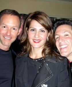 With Dan Jinks and Nia Vardalos