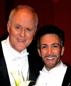 Rehearsing with John Lithgow in Philadelphia