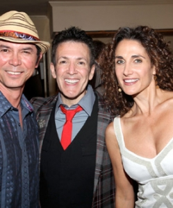 With Lou Diamond Phillips and Melina Kanakaredes